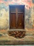 Street window in Olbia