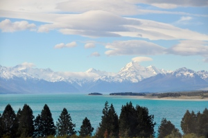 Mt Cook from Lake Pukaki